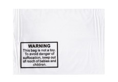 Tenzapac® 260 x 340mm Self Seal Bags with Child Warning Notice