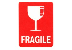 Transpal® FRAGILE GLASS Labels