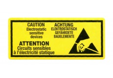 Transpal® ANTI STATIC WARNING Labels