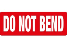 Transpal® DO NOT BEND Labels