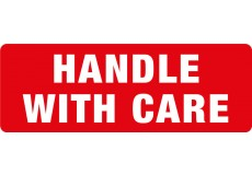 Transpal® HANDLE WITH CARE Labels