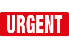 Transpal® URGENT Labels