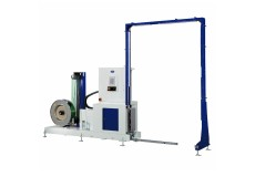 Optimax® Automatic Vertical Pallet Strapper