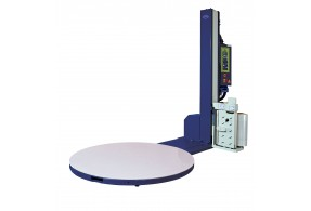 Optimax® Power Pre-stretch Pallet Wrapping Turntable with Weighing Scales